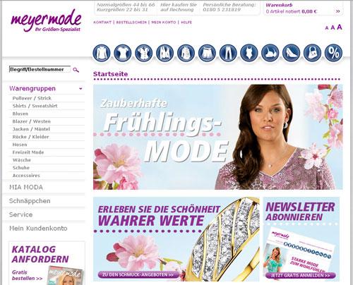 Meyer Moden Online Shop